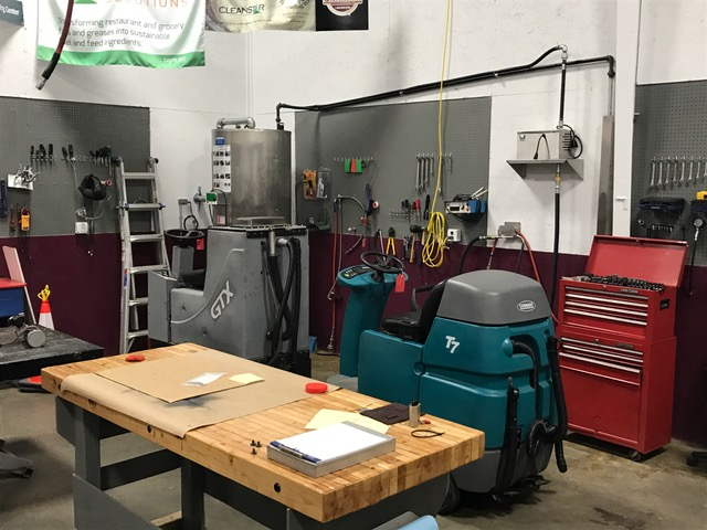 Floor Care Equipment For Rent From Triad Service Center