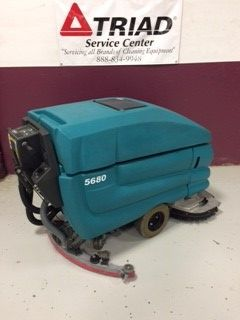 Used Tennant 5680 Walk-Behind Floor Scrubber