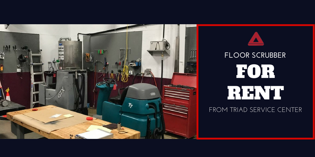 Floor Care Equipment For Rent at Triad Service Center