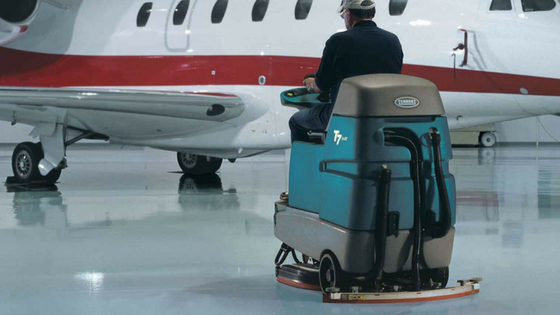 Tennant Company Ride On Floor Scrubber